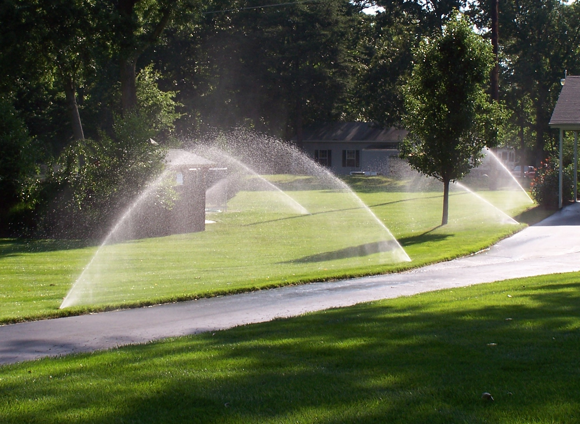Home Sprinkler System Installation
