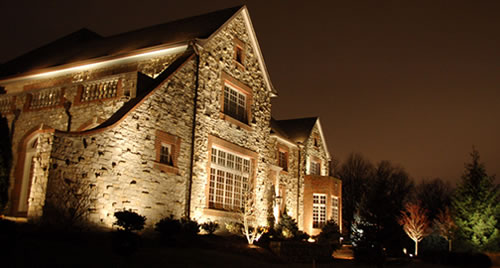 TriState Water Works: LED architectural landscape lighting.