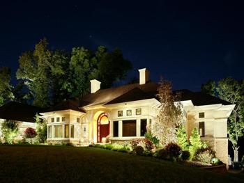Entryway Landscape Lighting