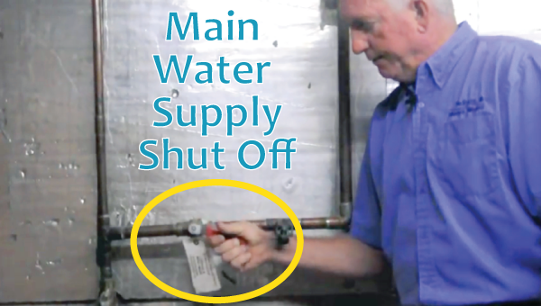 How to Turn off the Water to Your Sprinkler System