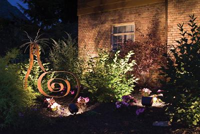 Install Landscape Lighting to Set the Mood